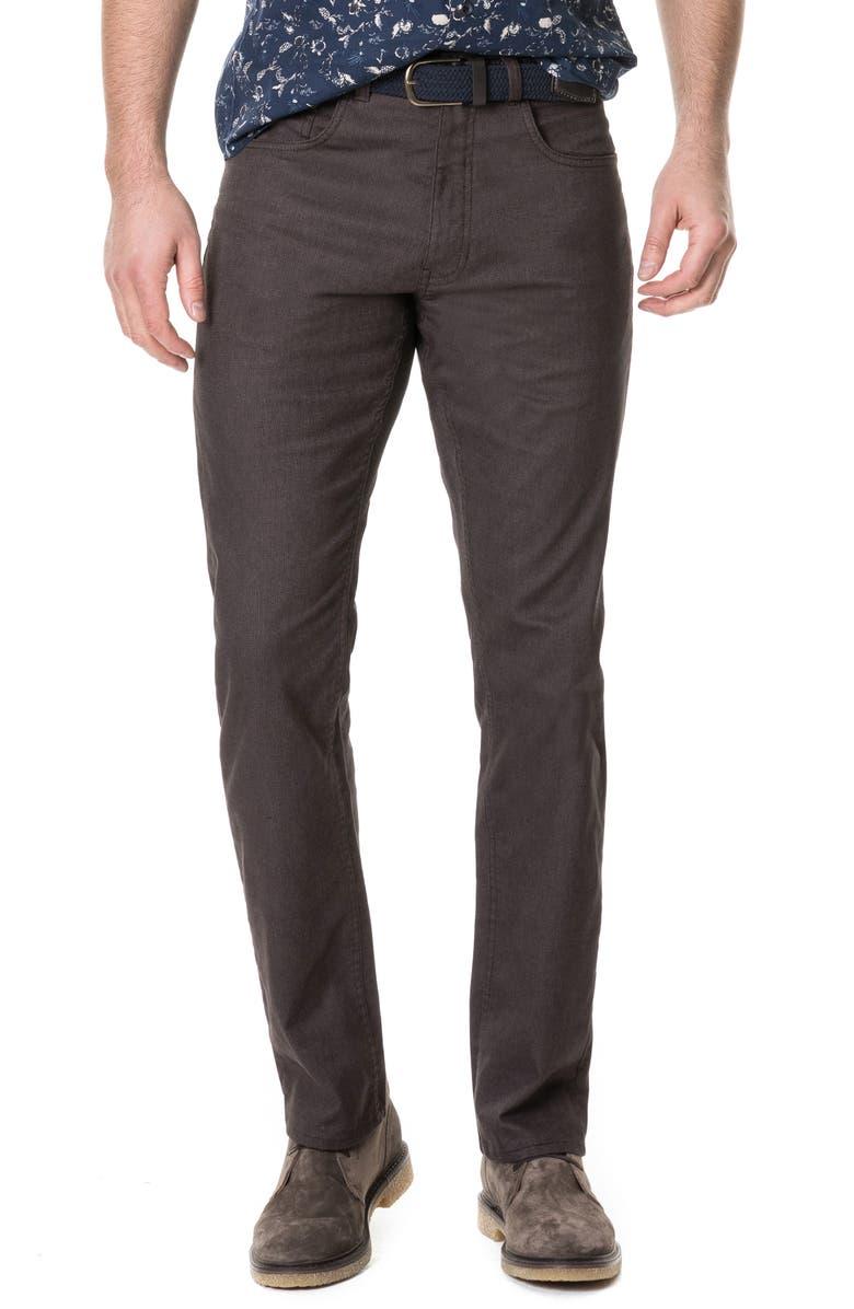 RODD & GUNN Craigavon Straight Leg Jeans, Main, color, BARK