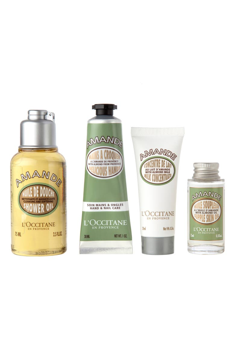 L'OCCITANE Almond Always & Forever Favorites Set, Main, color, NO COLOR