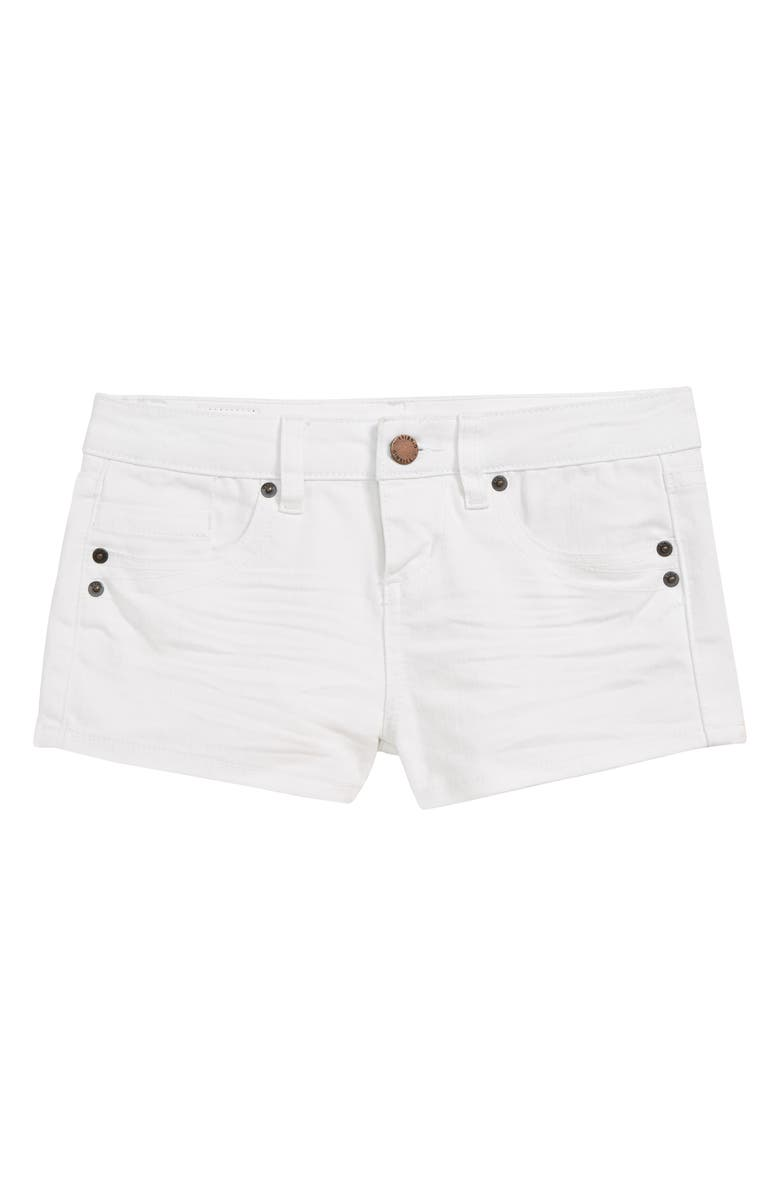 O'NEILL Waidly Denim Shorts, Main, color, WHITE