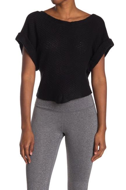 Image of New Balance Open Stitch Sweater Tee