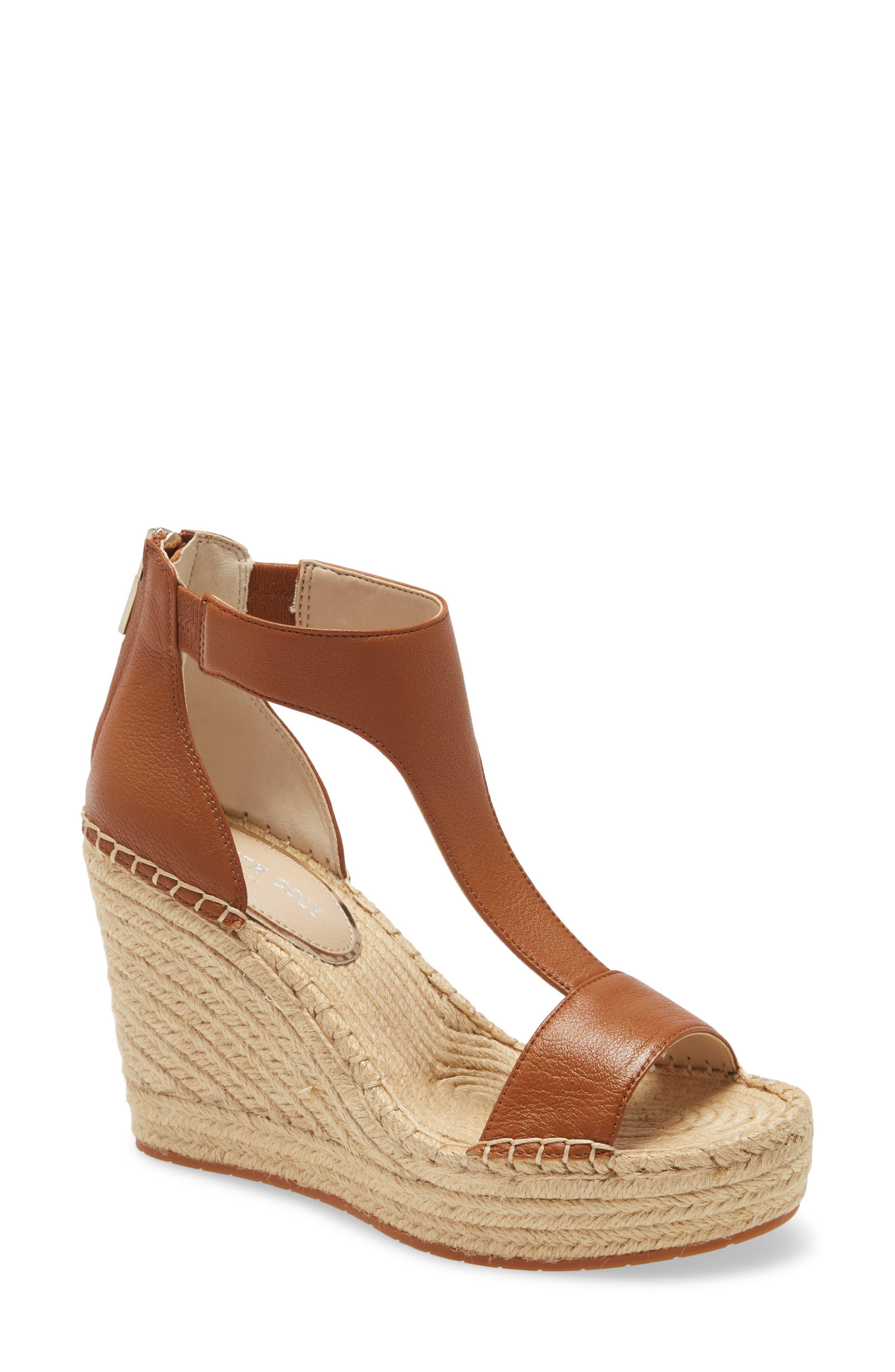 Olivia T-Strap Wedge Sandal