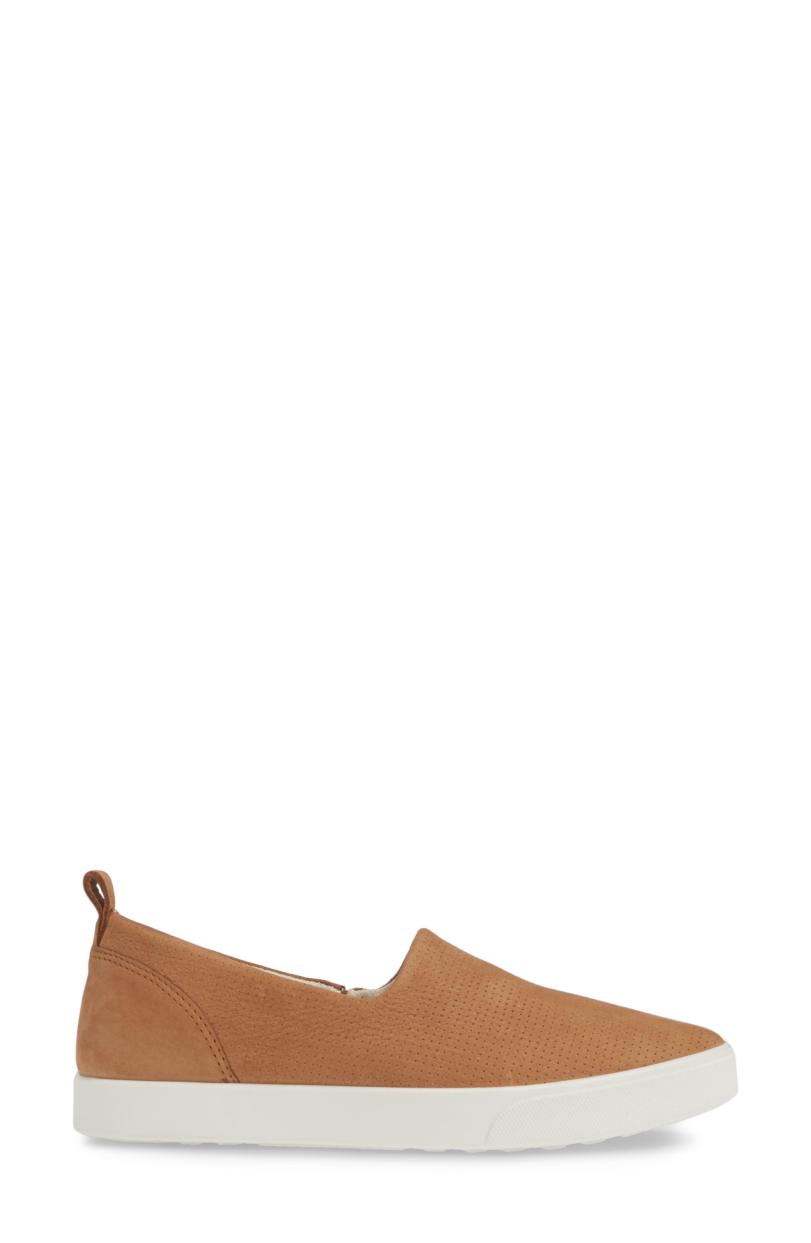 ,                             Gillian Slip-On Sneaker,                             Alternate thumbnail 3, color,                             CASHMERE LEATHER