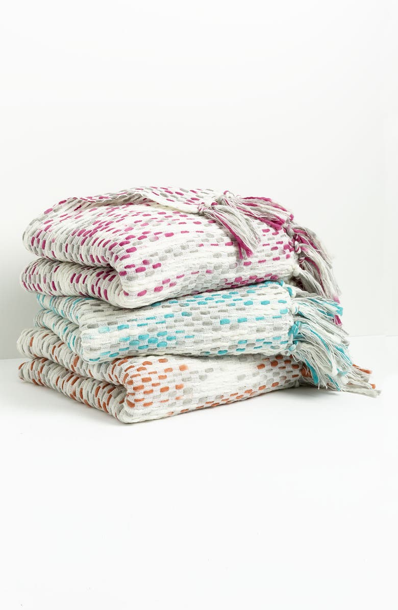 NORDSTROM at Home Space Dye Throw, Main, color, 530