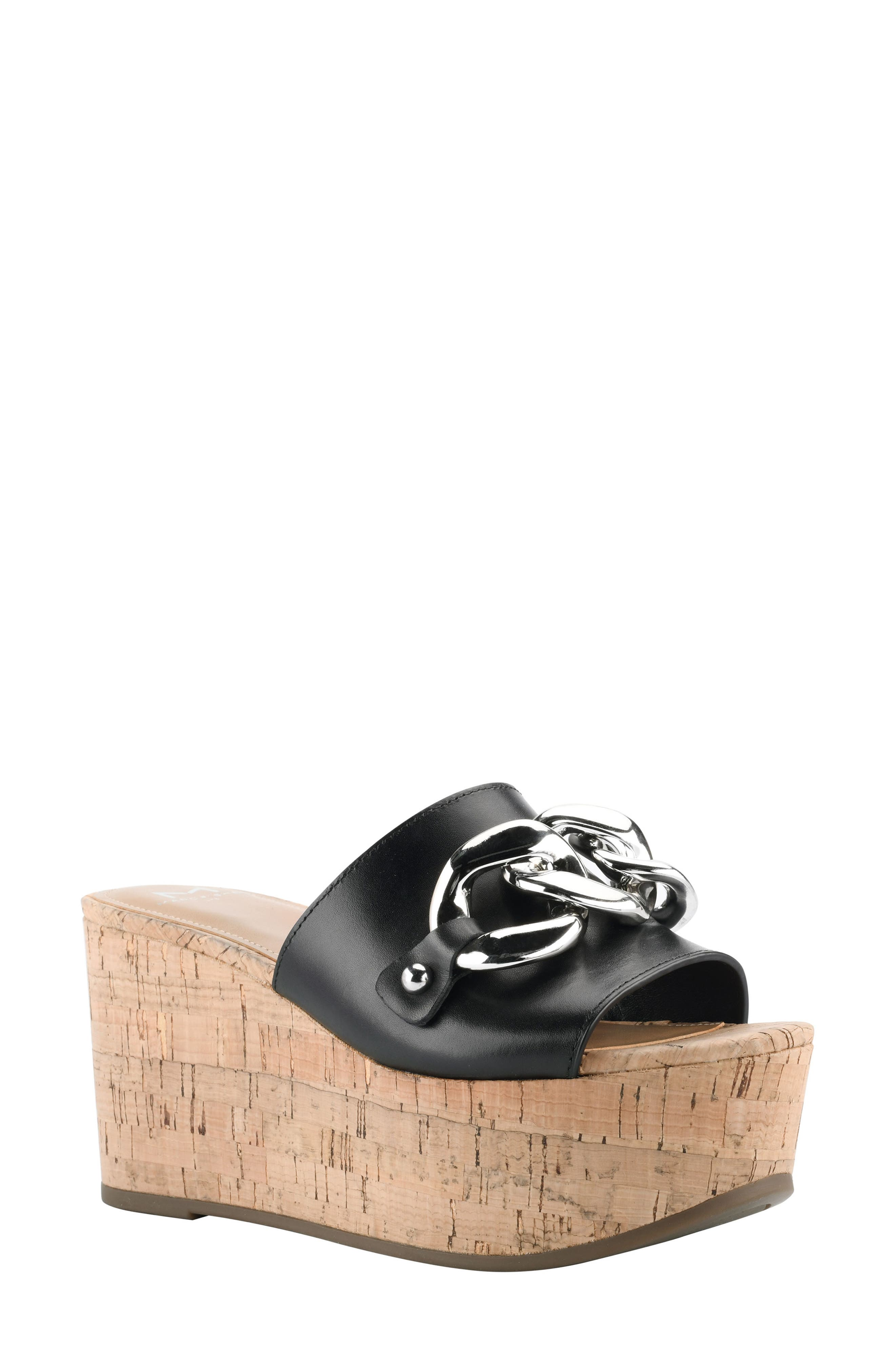 Vaneda Platform Slide Sandal
