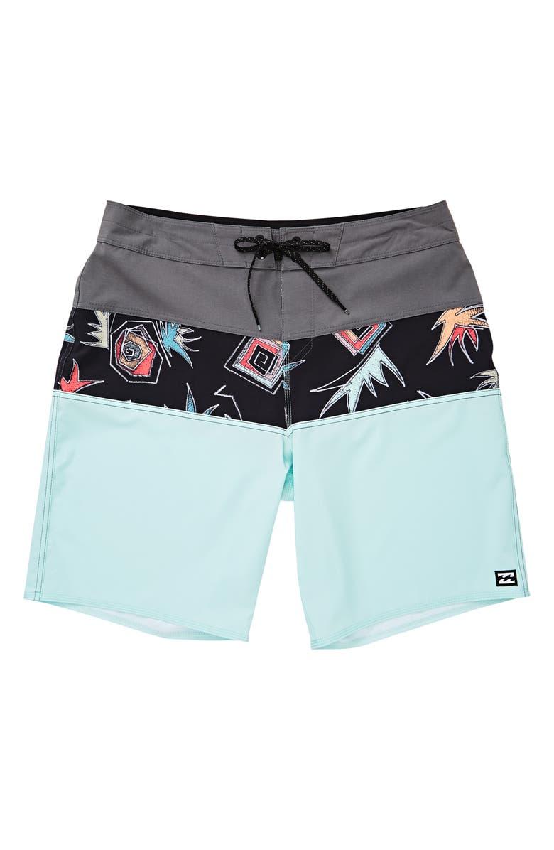 BILLABONG Tribong Pro Board Shorts, Main, color, 405