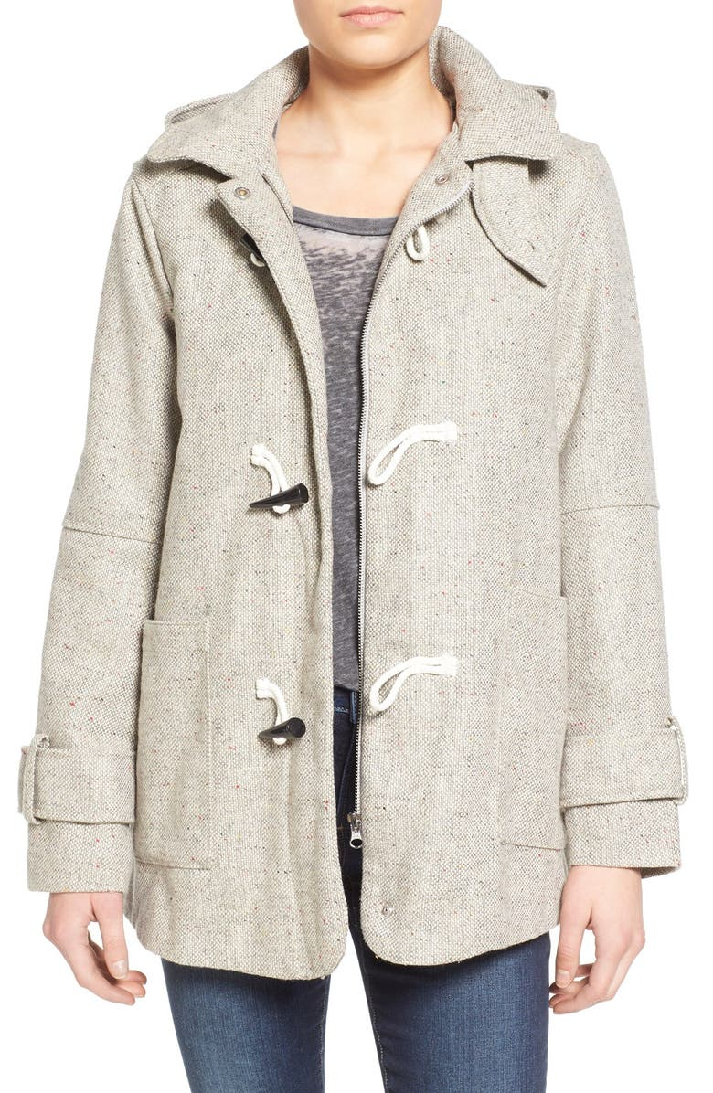 RHYTHM 'Capetown' Tweed Toggle Coat, Main, color, 020
