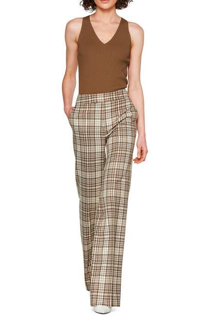 Image of SUISTUDIO Freddy Plaid Wool Trousers