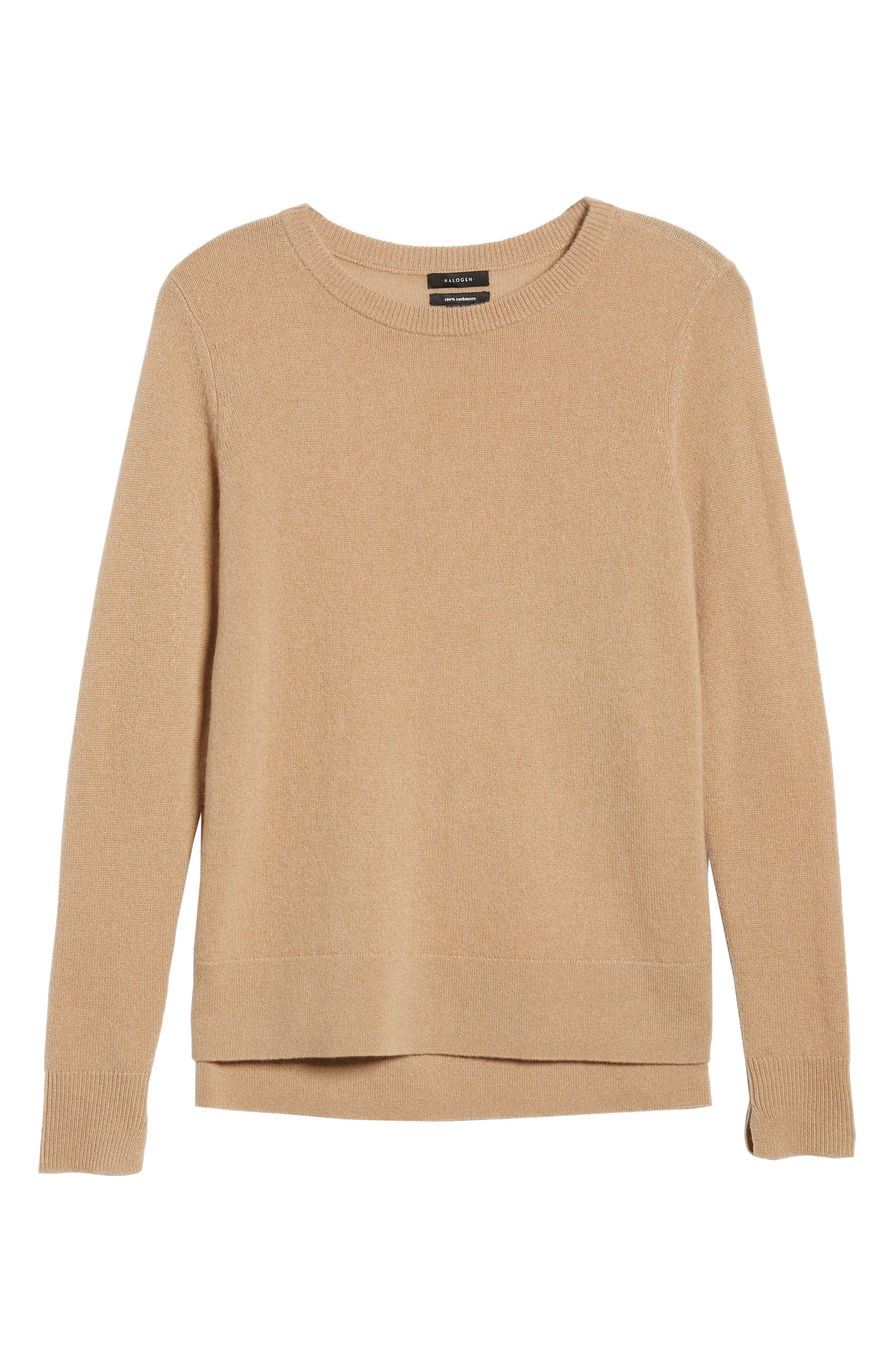 ,                             Crewneck Cashmere Sweater,                             Alternate thumbnail 67, color,                             230