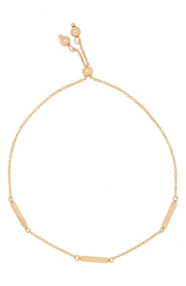 UNCOMMON JAMES BY KRISTIN CAVALLARI Halsey Pull Through Bracelet, Main, color, GOLD