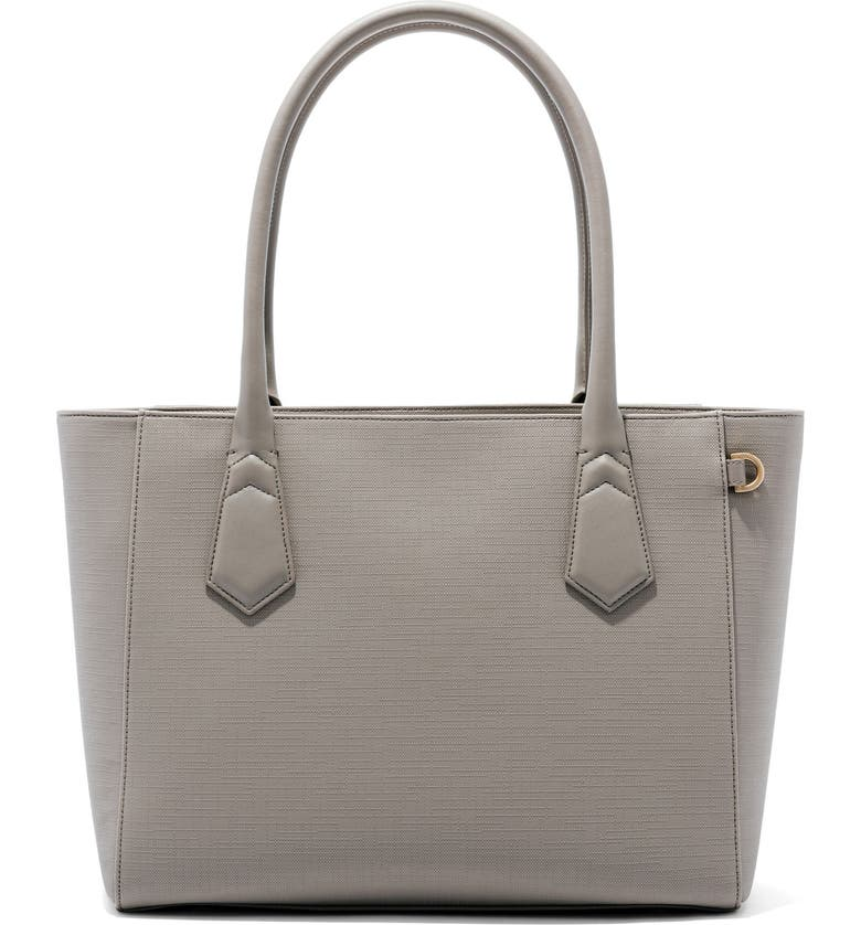 DAGNE DOVER Signature Classic Coated Canvas Tote, Main, color, BLEECKER BLUSH