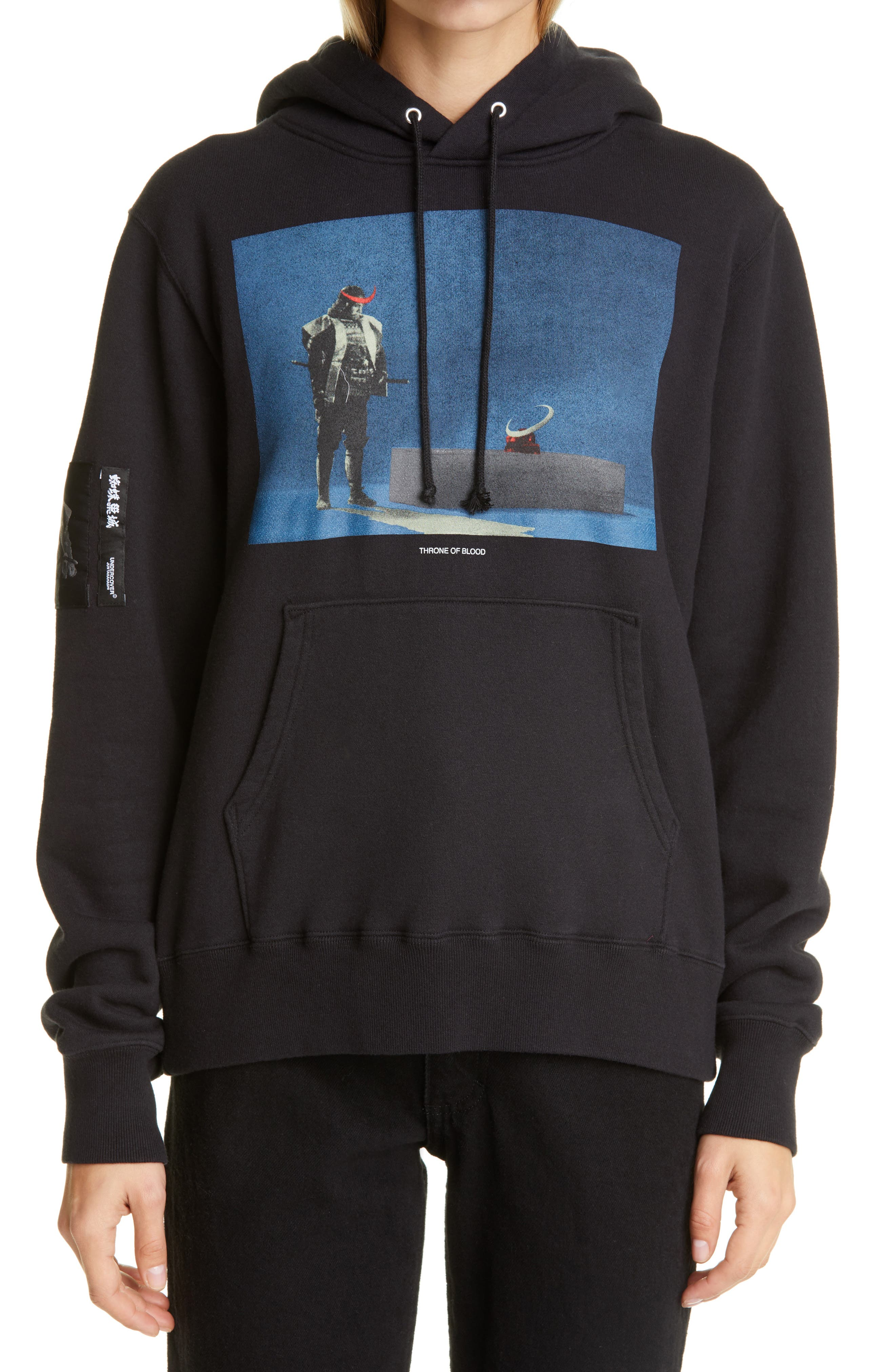Undercover Throne of Blood Graphic Hoodie   Nordstrom