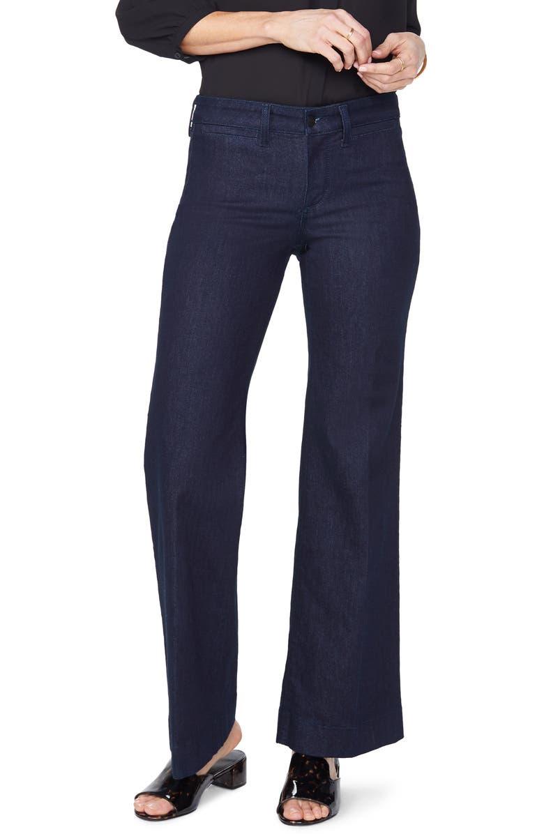 NYDJ Teresa Trouser Jeans, Main, color, RINSE