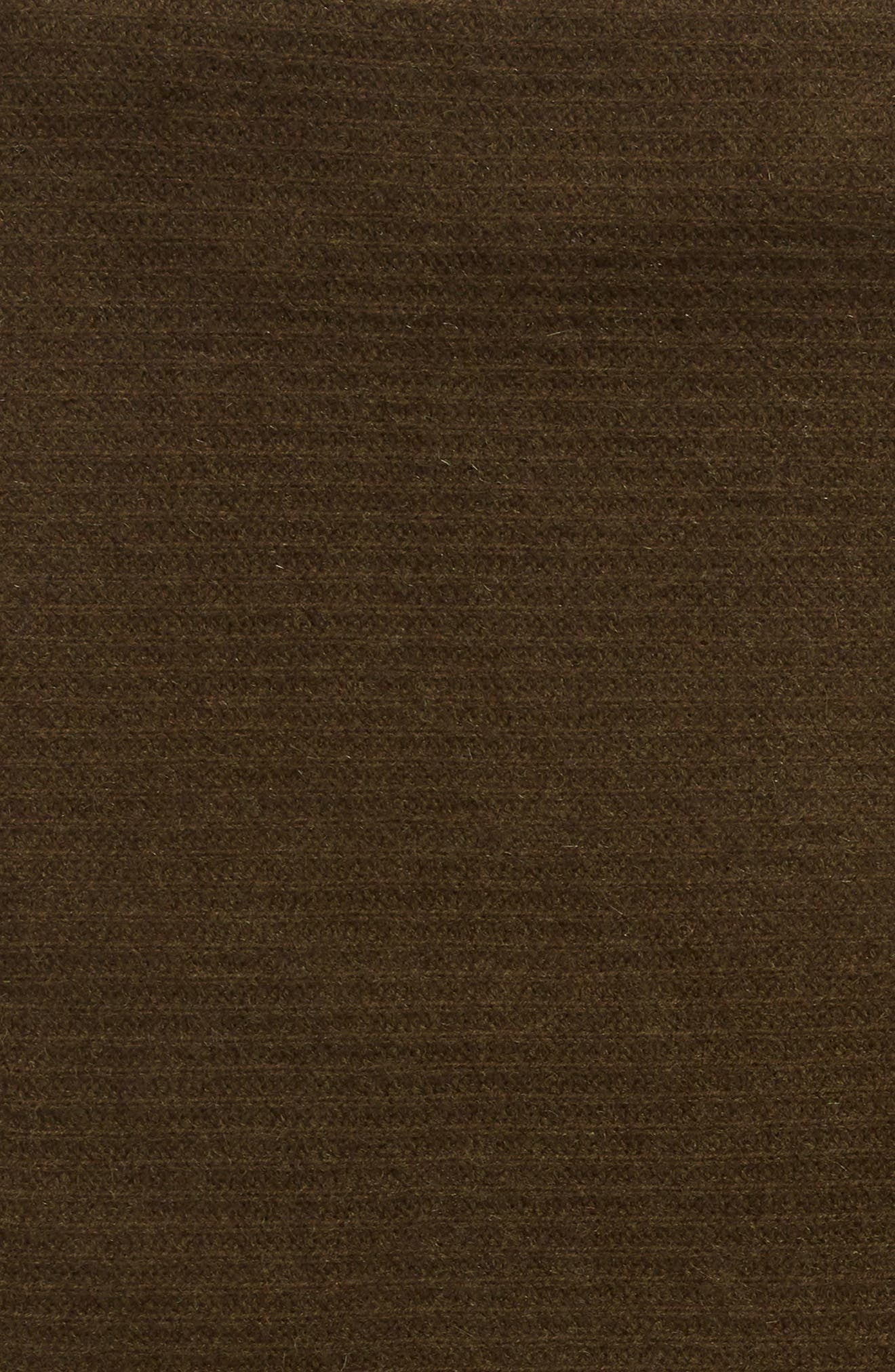 ,                             Ribbed Cashmere Throw,                             Alternate thumbnail 2, color,                             OLIVE HEATHER