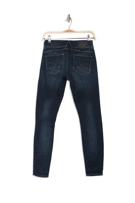 Image of G-STAR RAW Lynn Zipper Skinny Jeans