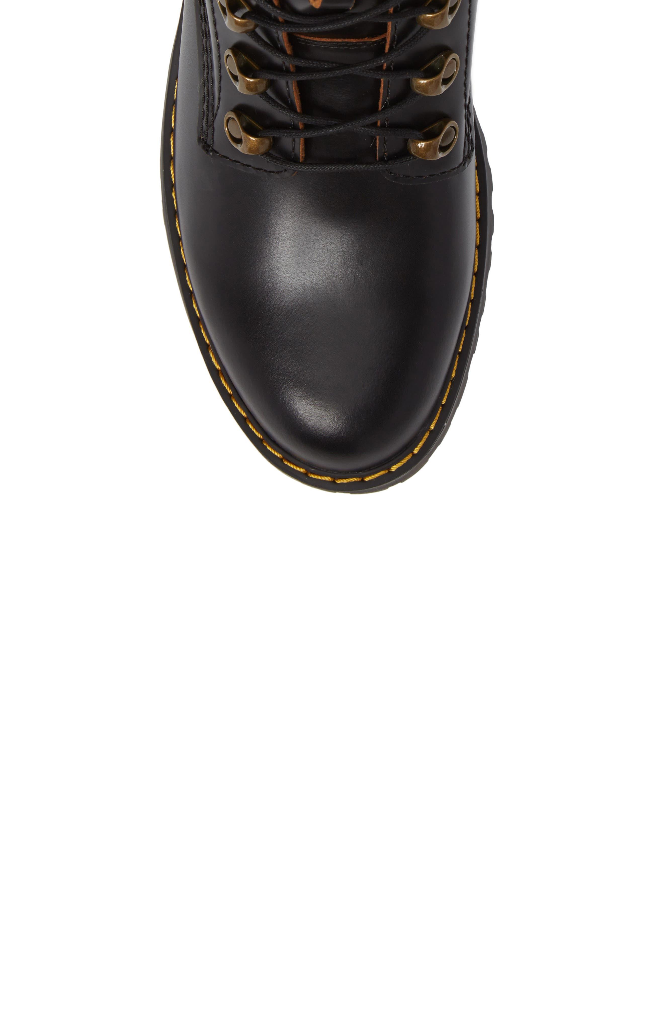 ,                             Leona Heeled Boot,                             Alternate thumbnail 5, color,                             001