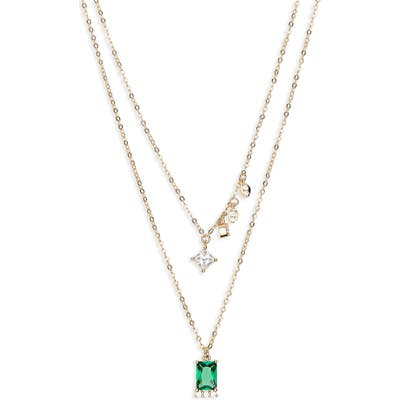 Nordstrom Cubic Zirconia Collar Necklace