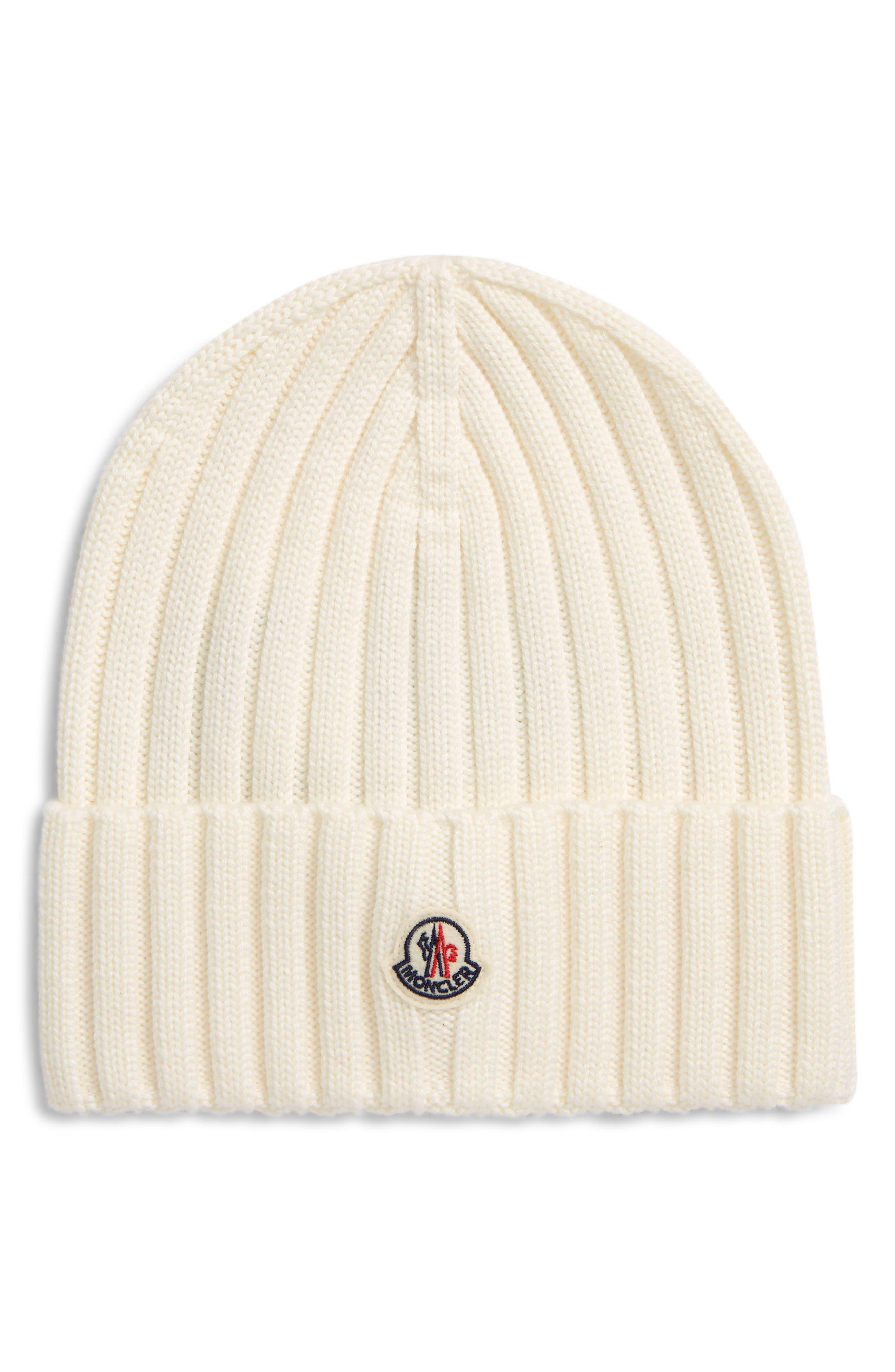Logo Rib Virgin Wool Beanie