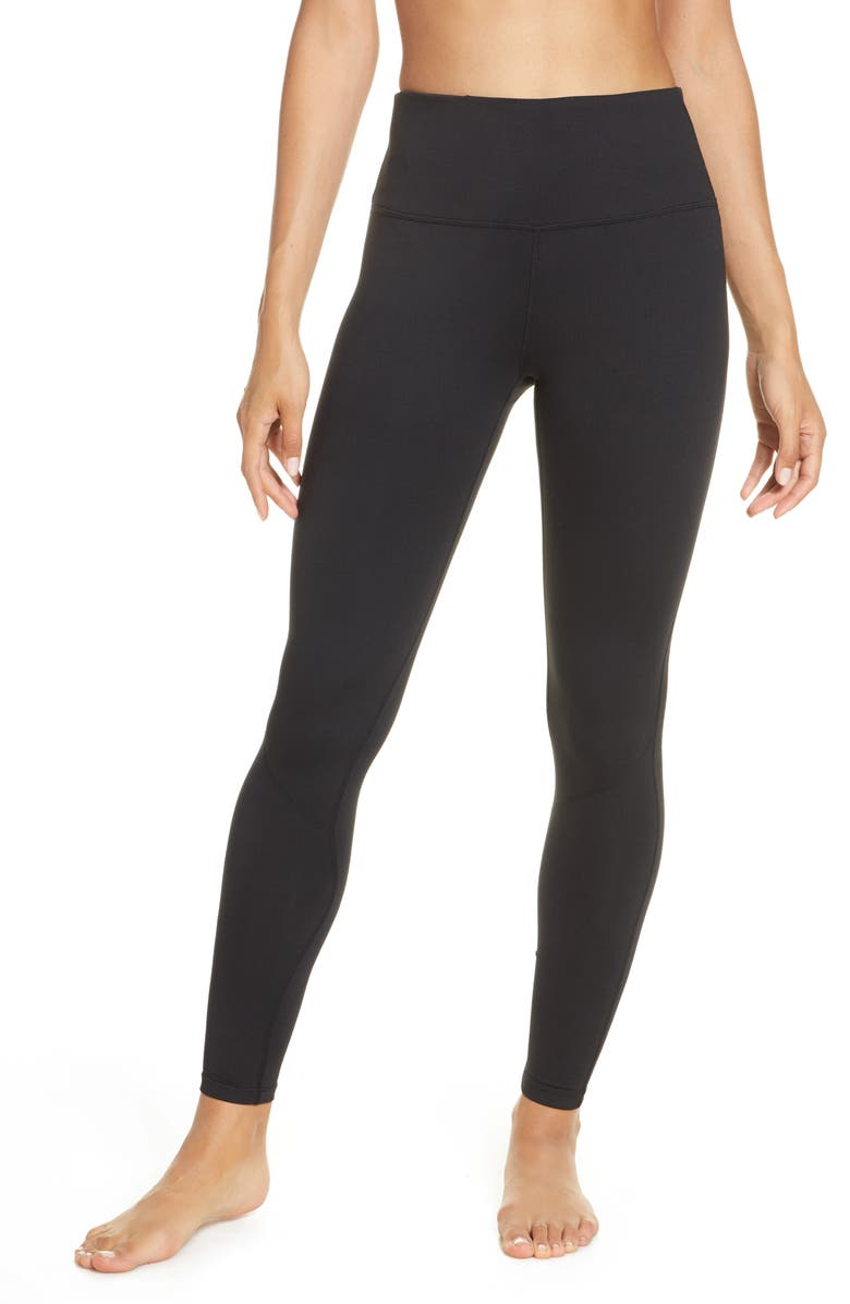 ZELLA Emerge Live In High Waist Leggings, Main, color, 001
