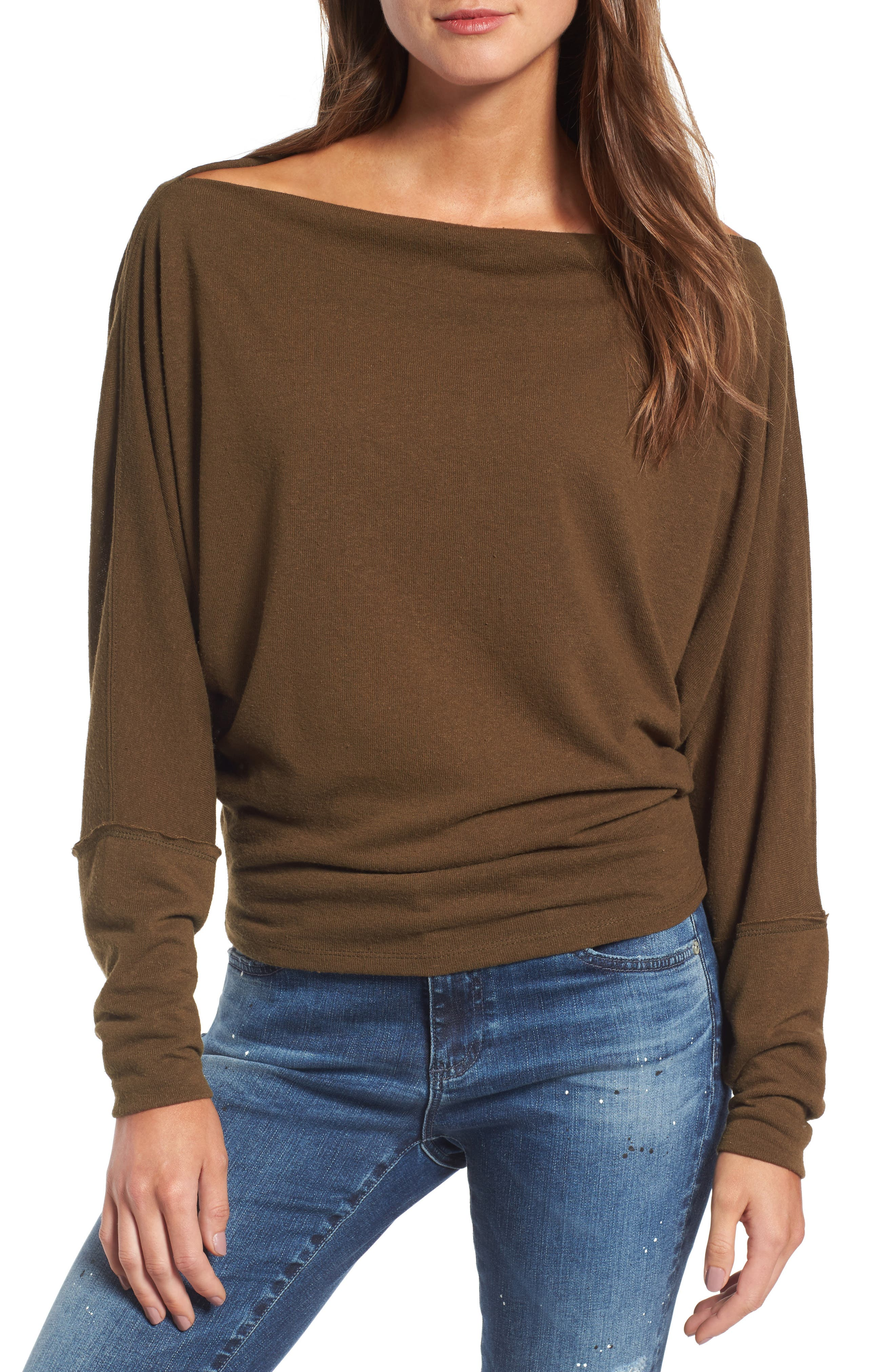 ,                             Valencia Off the Shoulder Pullover,                             Main thumbnail 24, color,                             303