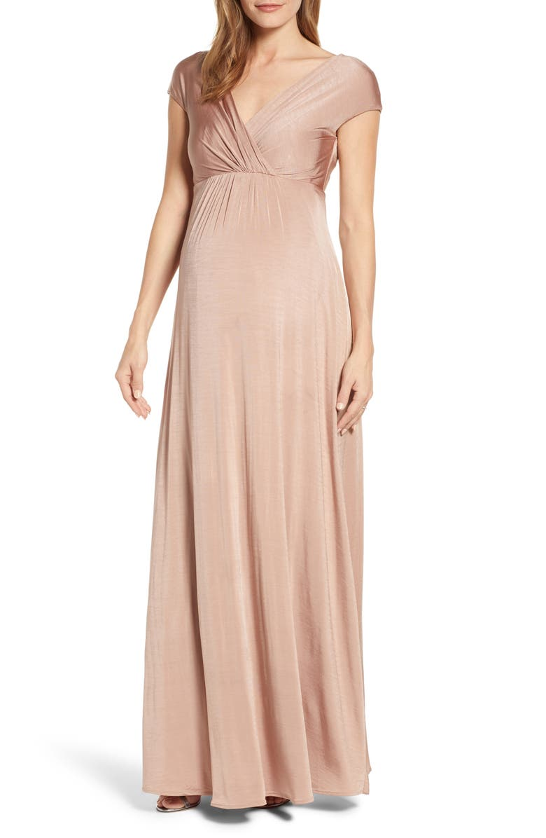 TIFFANY ROSE Francesca Maternity/Nursing Gown, Main, color, PINK
