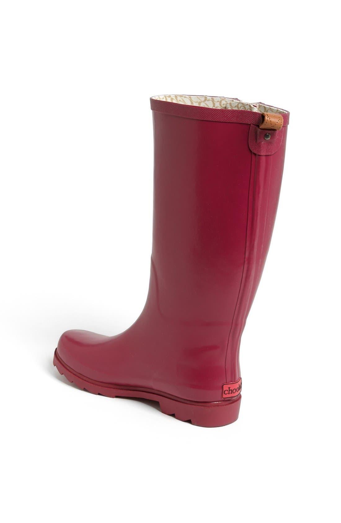 ,                             'Top Solid' Rain Boot,                             Alternate thumbnail 115, color,                             601