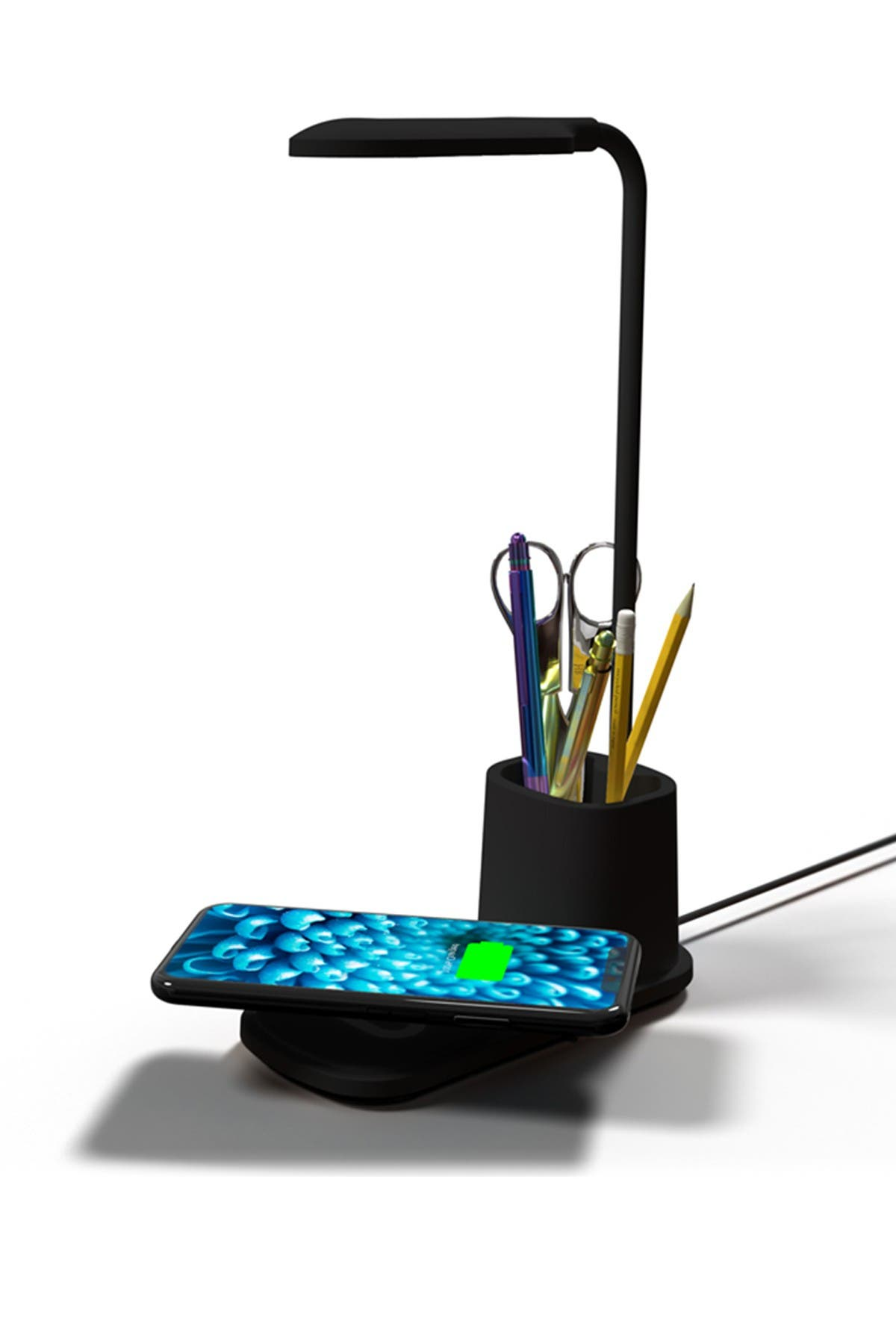 Image of VIBRANT Wireless Charging Pad Pen Holder Desk Lamp