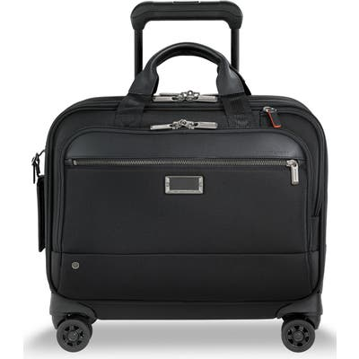 Briggs & Riley @work Medium Wheeled Briefcase - Black