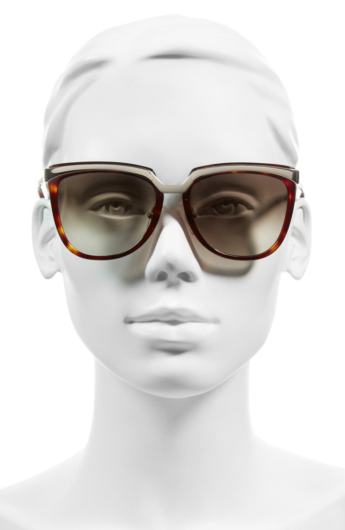 ,                             Teacup 55mm Sunglasses,                             Alternate thumbnail 2, color,                             HAVANA