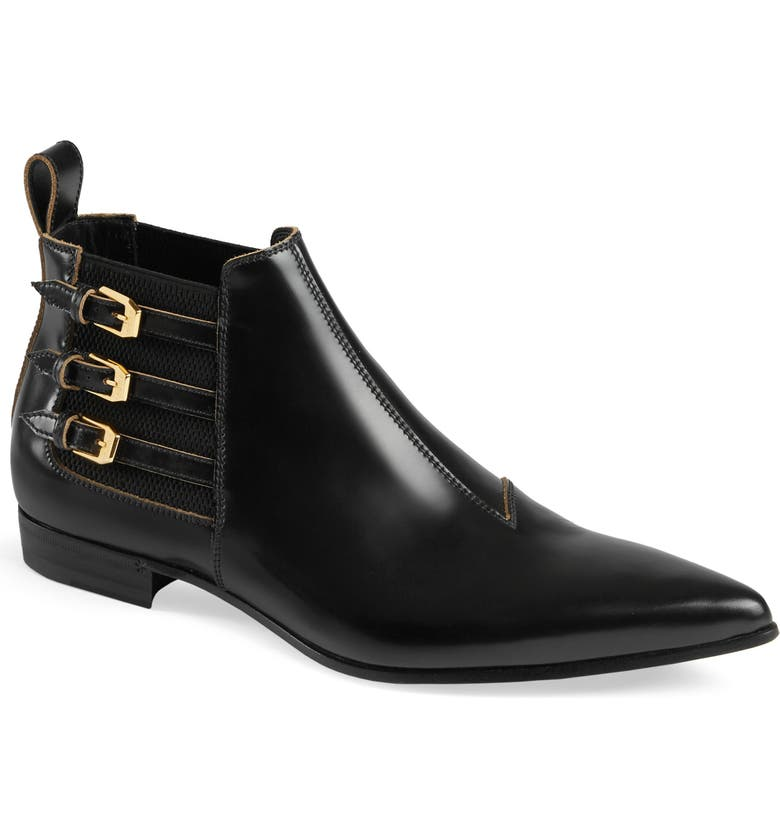 GUCCI Chelsea Boot, Main, color, NERO/ NERO