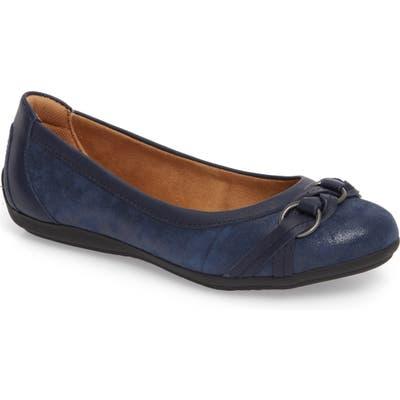 Comfortiva Malloree Flat, Blue