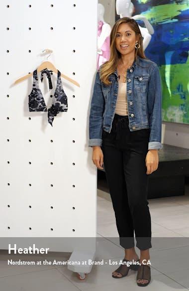 Eden Halter Camo Bikini Top, sales video thumbnail