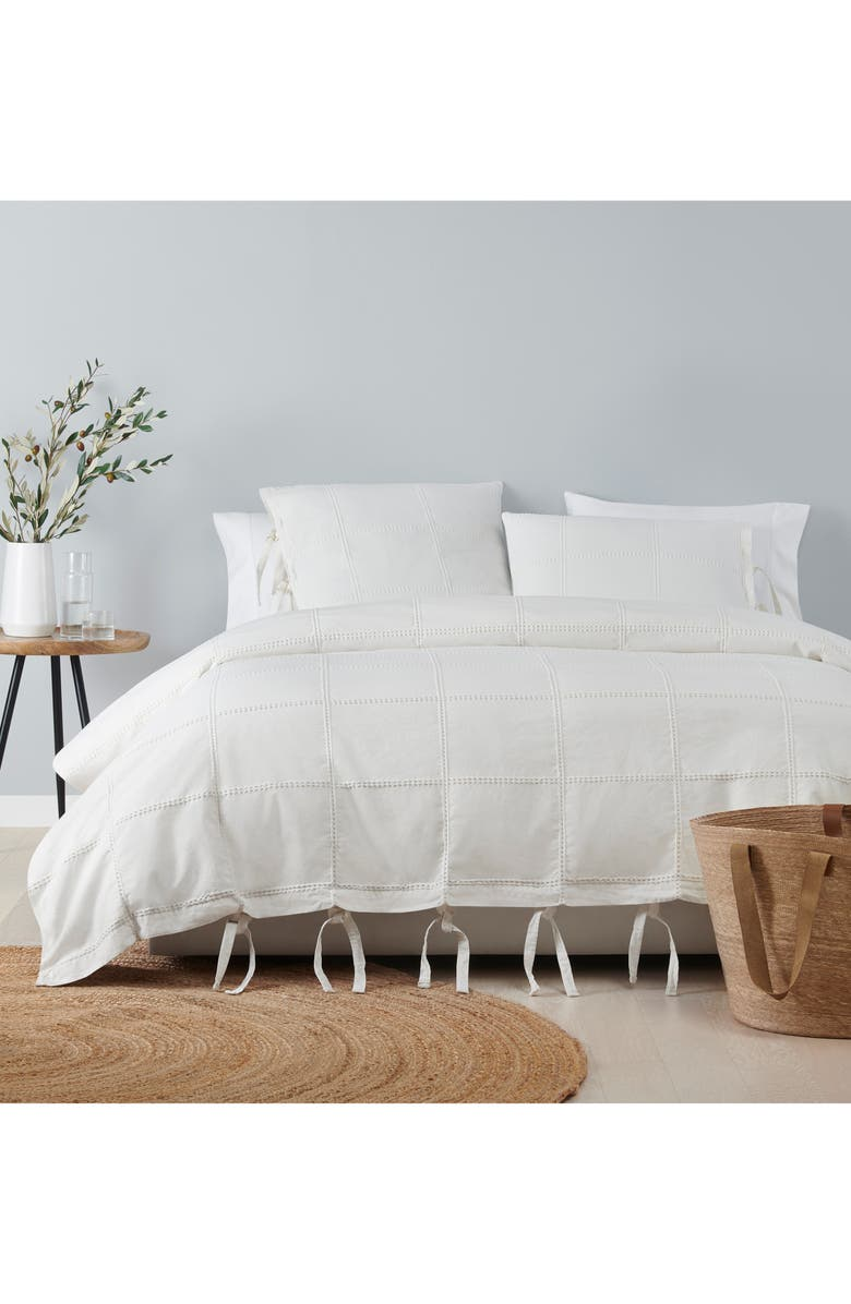 UGG<SUP>®</SUP> Jules Duvet Cover, Main, color, WHITE