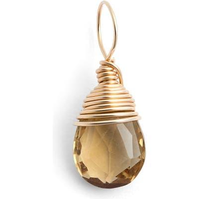Nashelle 14K-Gold Fill & Semiprecious Stone Charm