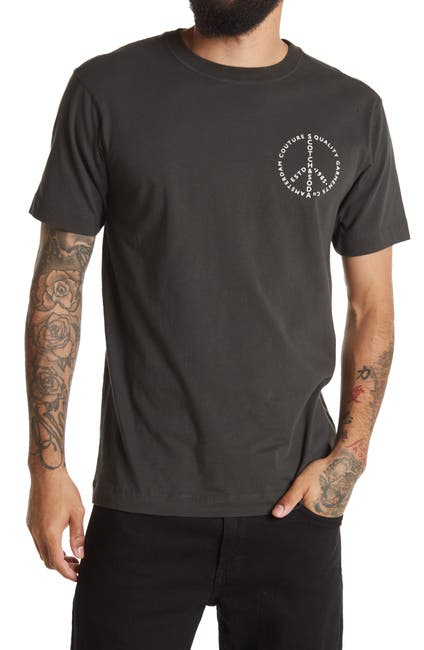 Image of Scotch & Soda Graphic Crew Neck T-Shirt