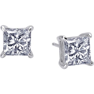 Lafonn Princess Cut Simulated Diamond Earrings
