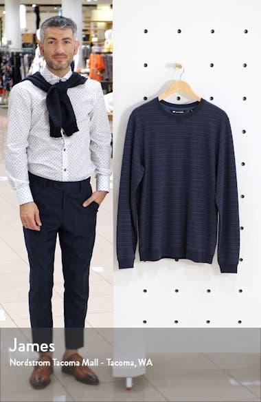 Carlin Pinstripe Sweatshirt, sales video thumbnail