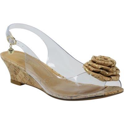 J. Renee Ikeisha Slingback Sandal, Beige