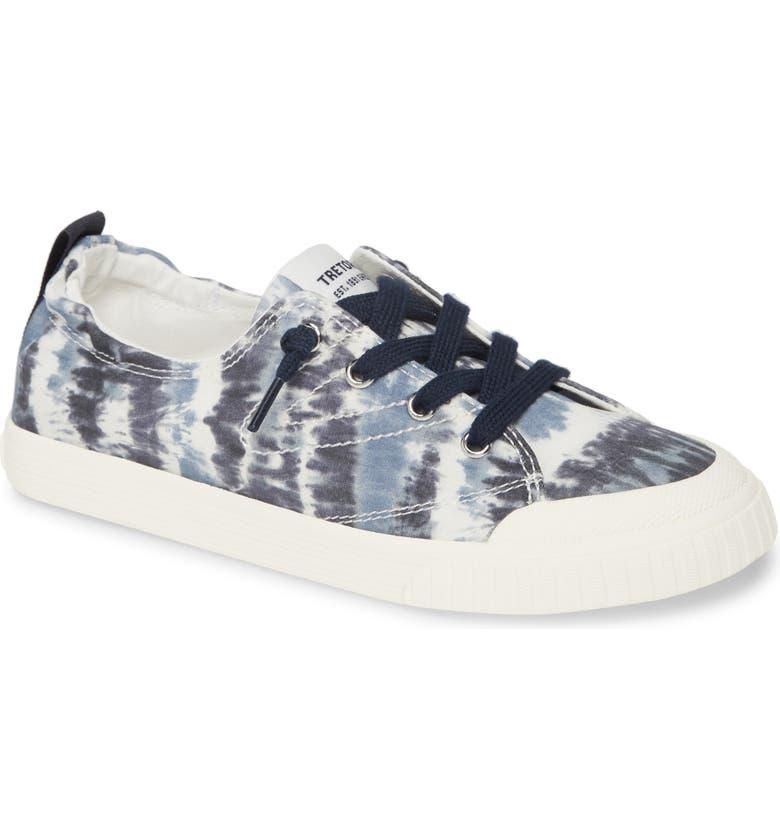 TRETORN Meg 8 Slip-On Sneaker, Main, color, NIGHT/ WHITE/ VINTAGE WHITE