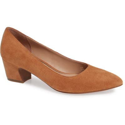 Linea Paolo Bardot Pump- Brown
