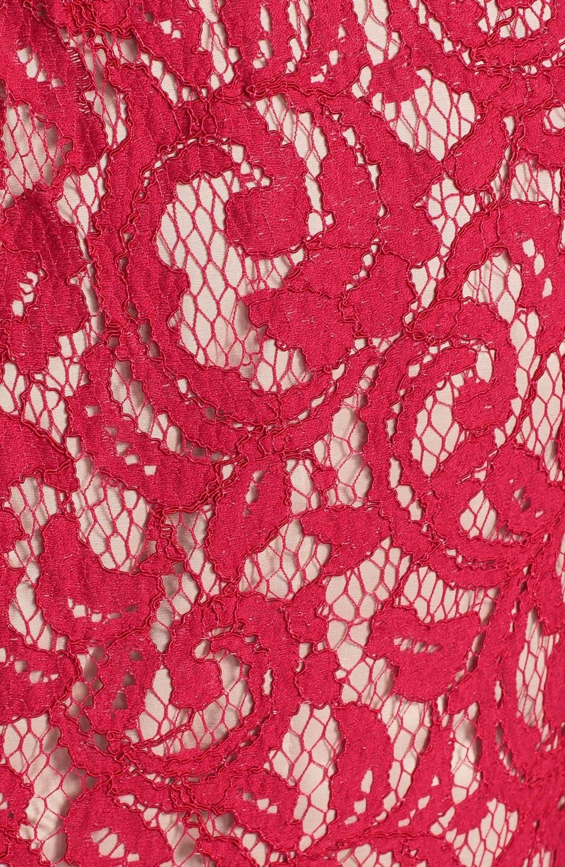 ,                             Scalloped Lace Dress,                             Alternate thumbnail 21, color,                             617