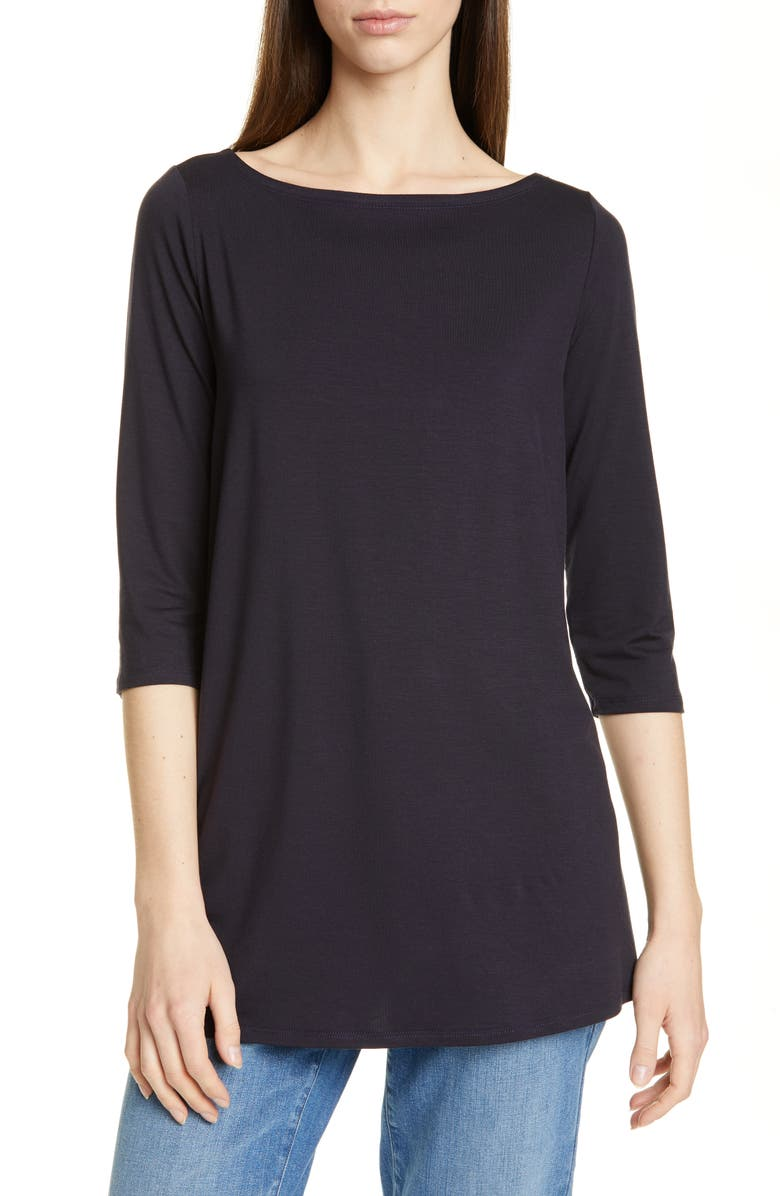 EILEEN FISHER Tunic, Main, color, INK