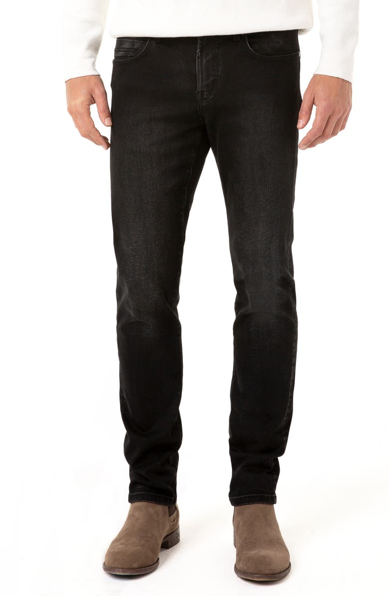 LIVERPOOL Kingston Slim Straight Leg Jeans, Main, color, JUPITER