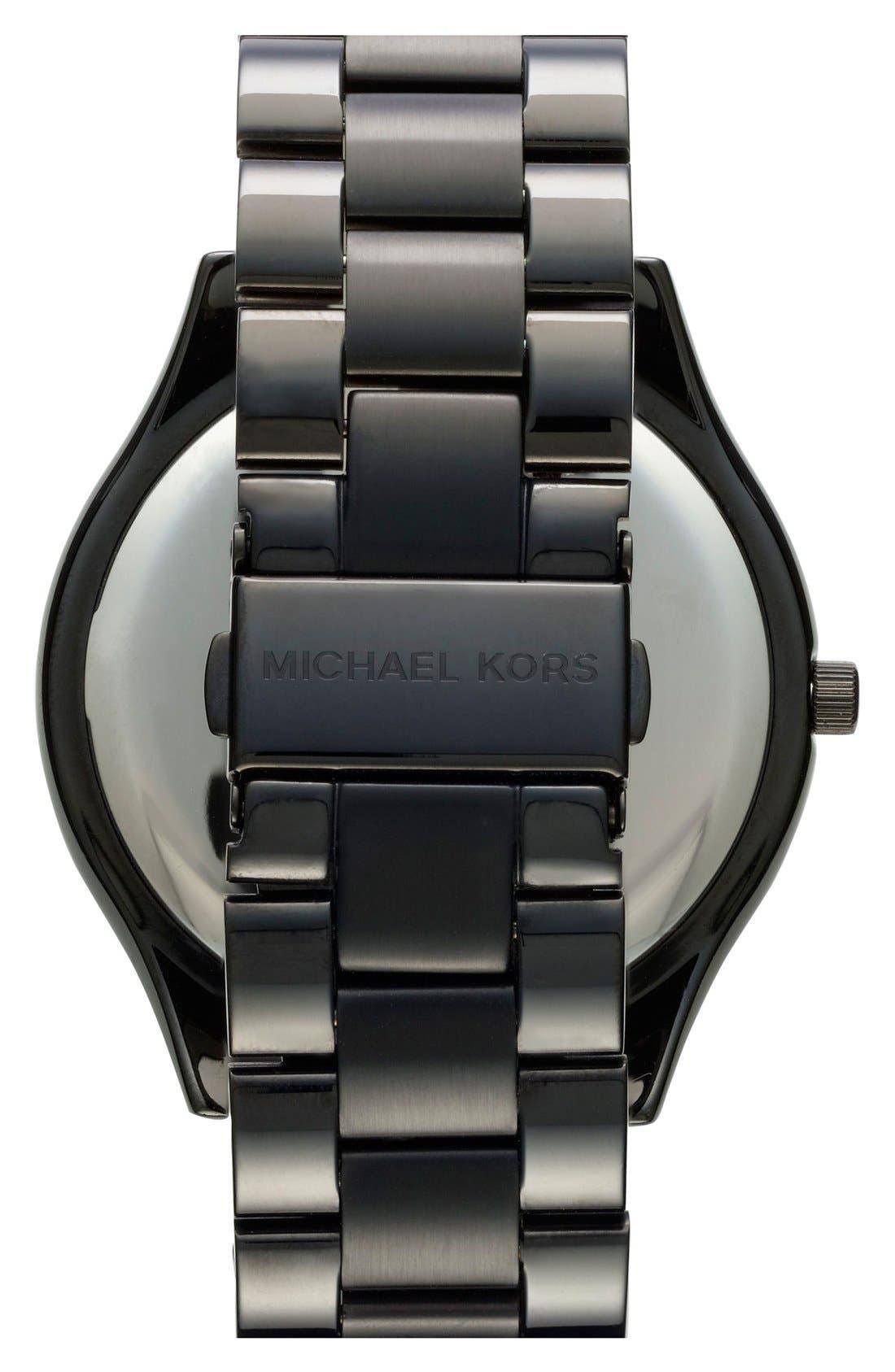 ,                             'Slim Runway' Bracelet Watch, 42mm,                             Alternate thumbnail 10, color,                             001