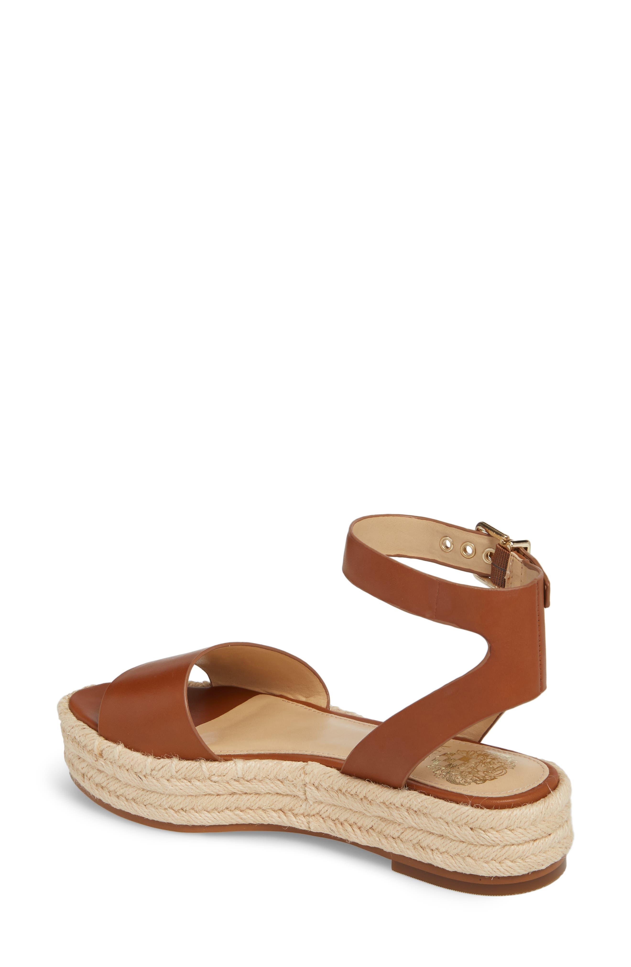 ,                             Kathalia Platform Sandal,                             Alternate thumbnail 2, color,                             SUMMER COGNAC LEATHER