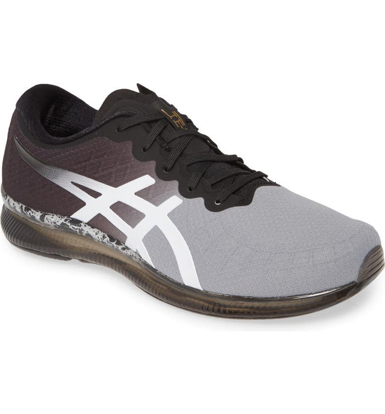 ASICS<SUP>®</SUP> GEL-Quantum Infinity Running Shoe, Main, color, SHEET ROCK/ BLACK LEATHER