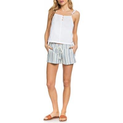 Roxy Oceanside Drawstring Shorts, White