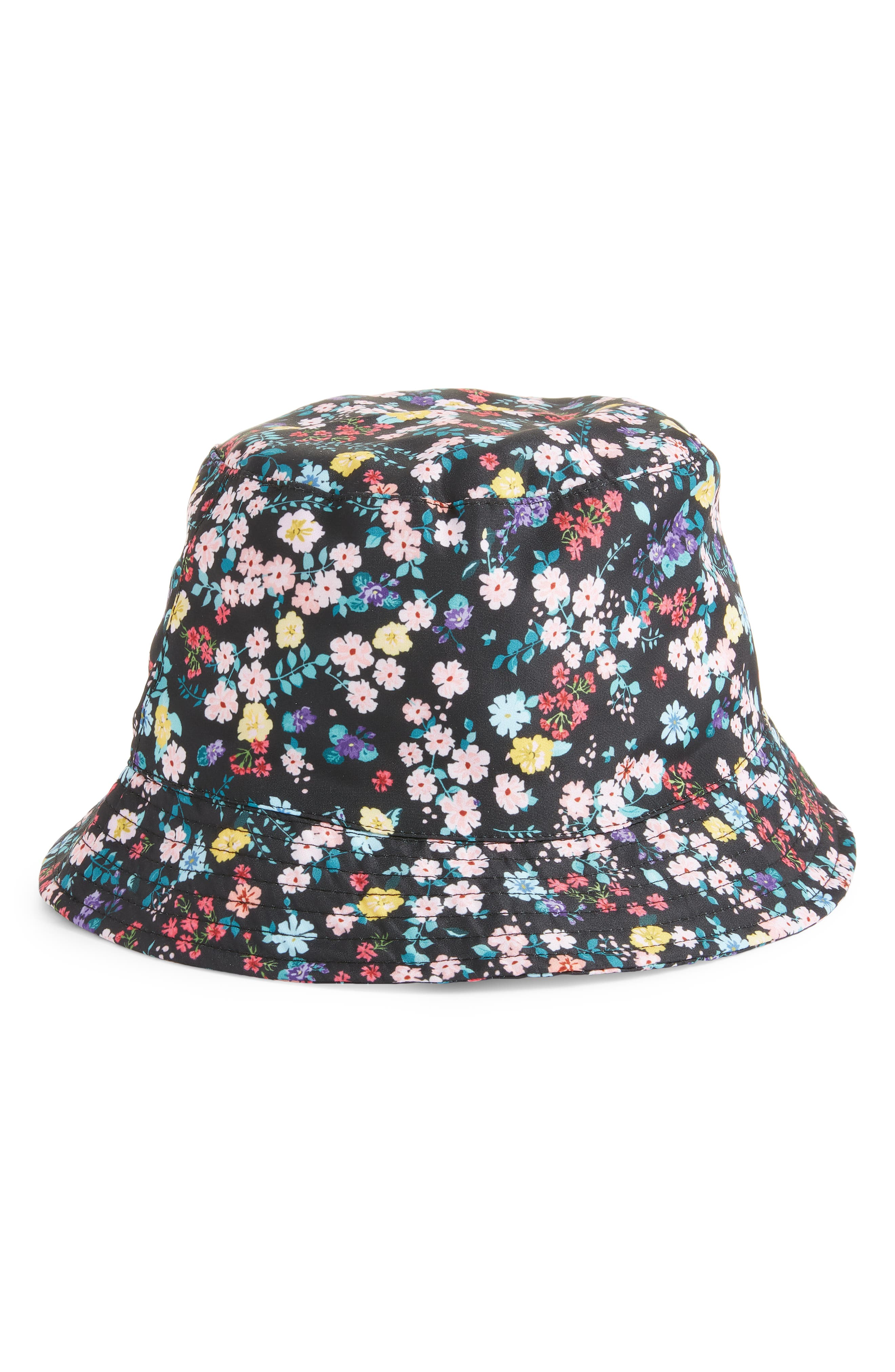 Bp. Hats FLORAL PRINT BUCKET HAT