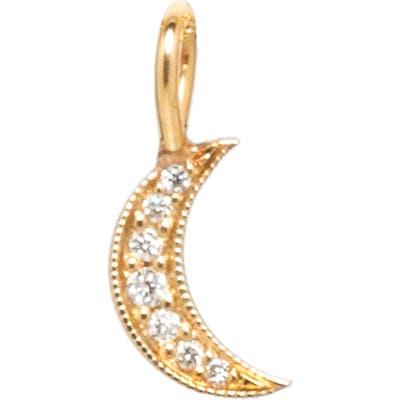 Zoe Chicco Diamond Pave Crescent Moon Charm