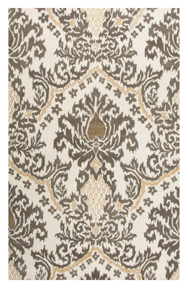 Rizzy Home 'Damask' Wool Area Rug