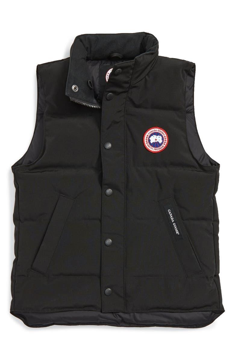 CANADA GOOSE 'Vanier' Down Vest, Main, color, 001